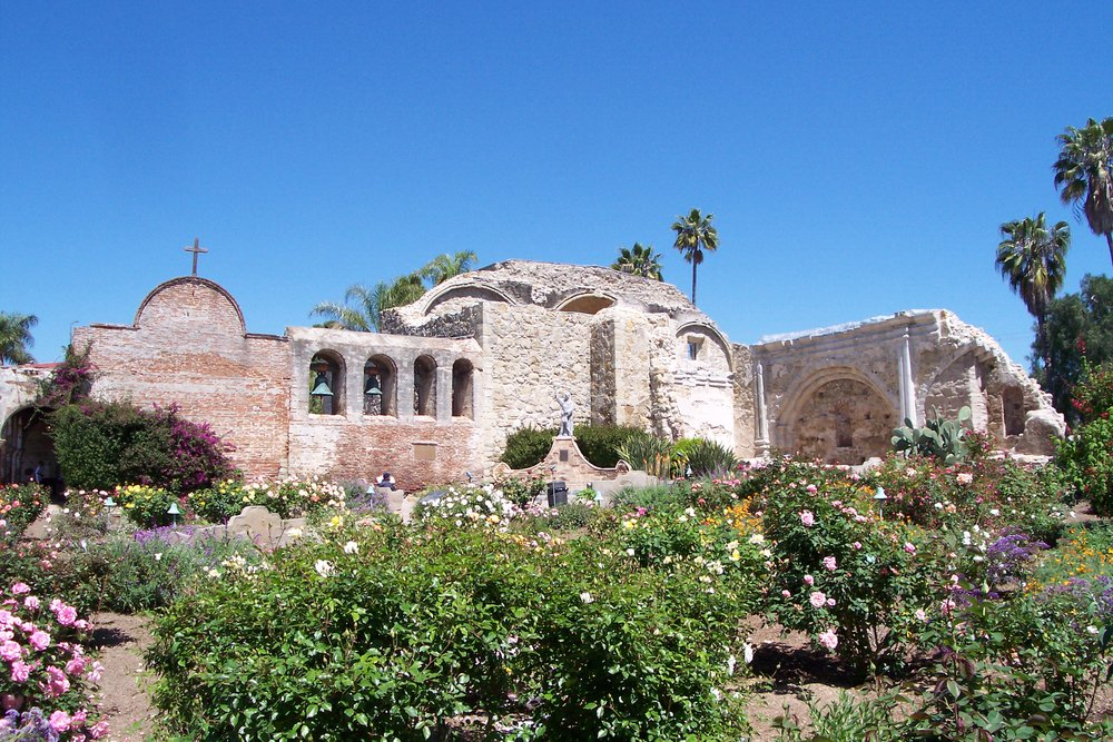 The Mission of San Juan Capistrano