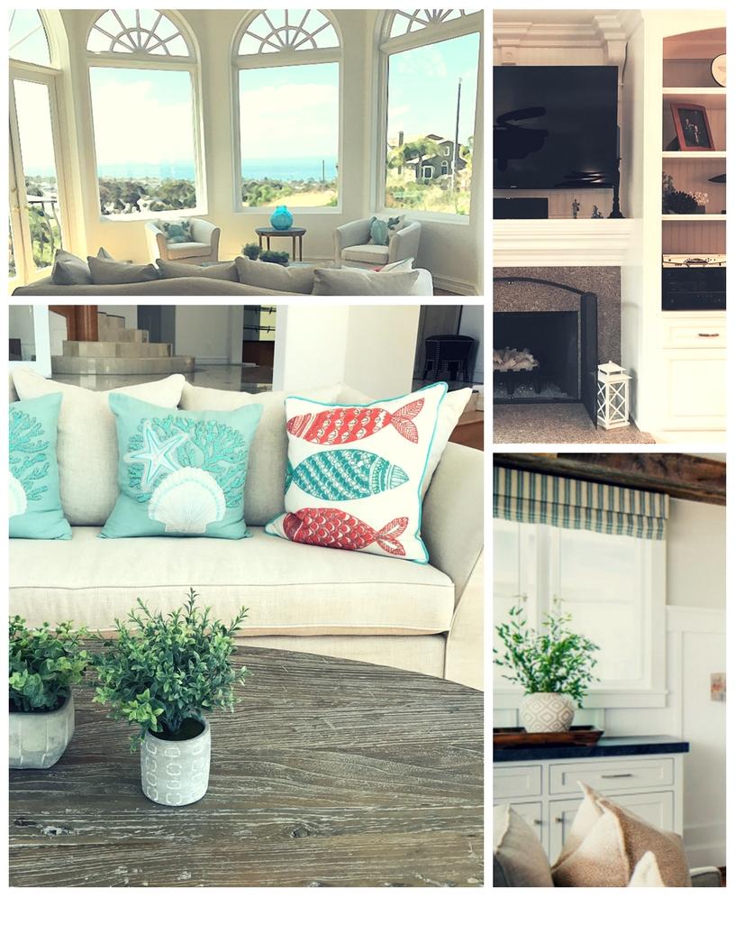 beach home decor