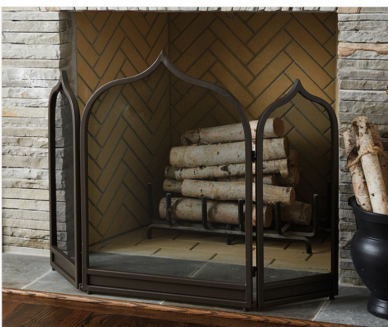 Moroccan Fireplace Screen by Ballard Design