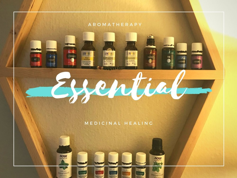 My essential oil collection
