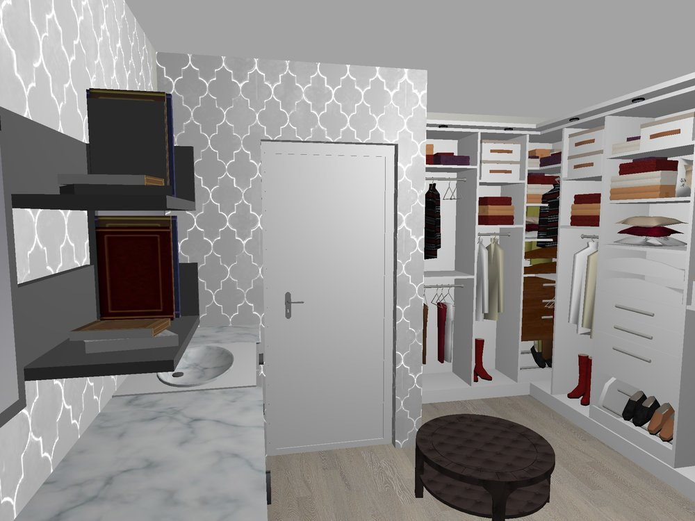 Rendering done by me via Home Design