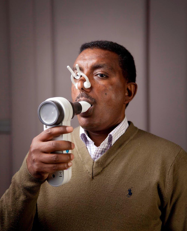 Professor Abebaw Yohannes of Manchester Metropolitan University