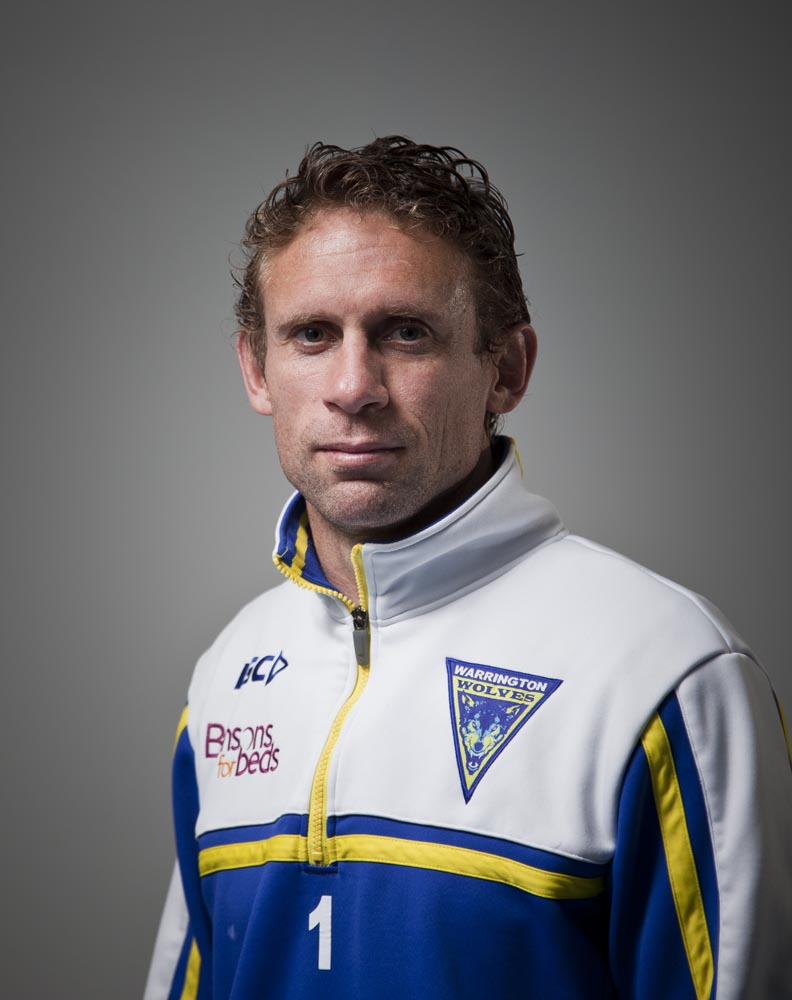 Brett Hodgson - Rugby League player for Warrington Wolves, Widnes Vikings
