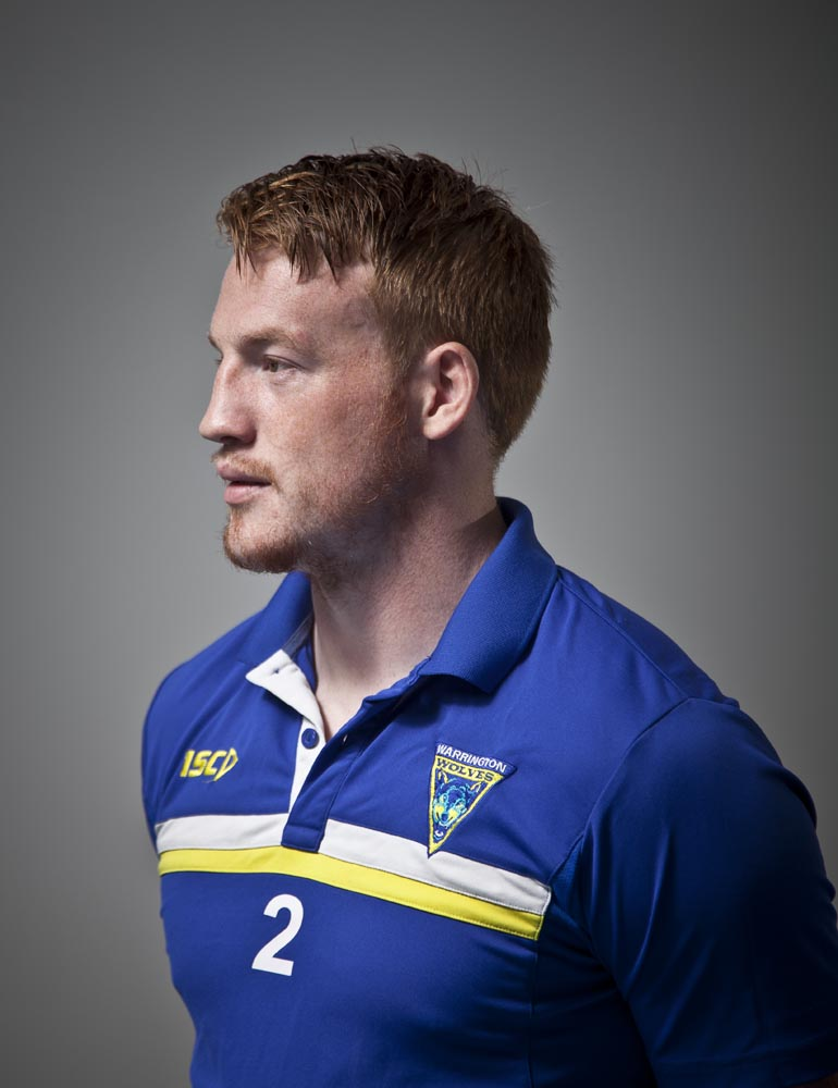 Chris Riley - Rugby League player for Warrington Wolves, autism carer