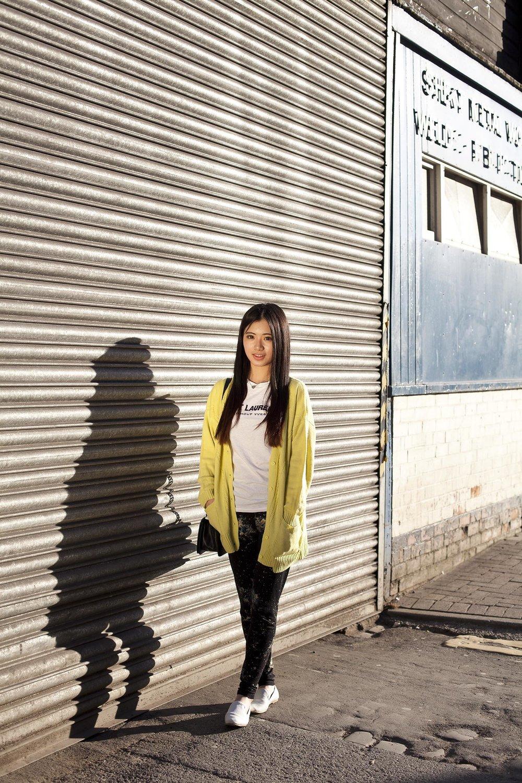 Manchester documentary street portrait