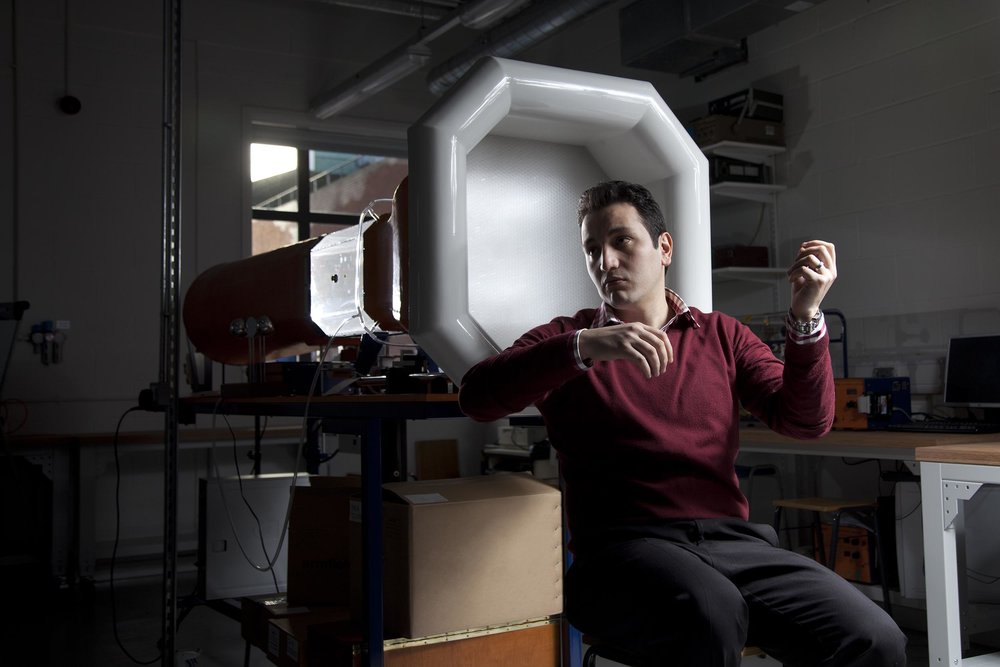 Aerodynamics researcher at Manchester Metropolitan University