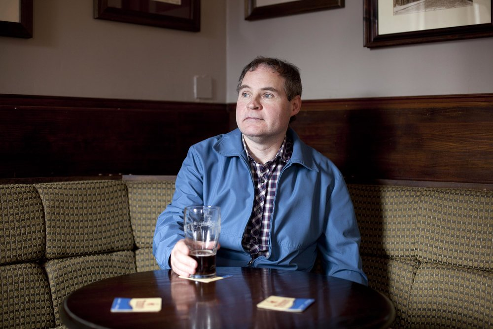 Man in local pub, Goodison Park, Everton, Liverpool - Documentary Photography