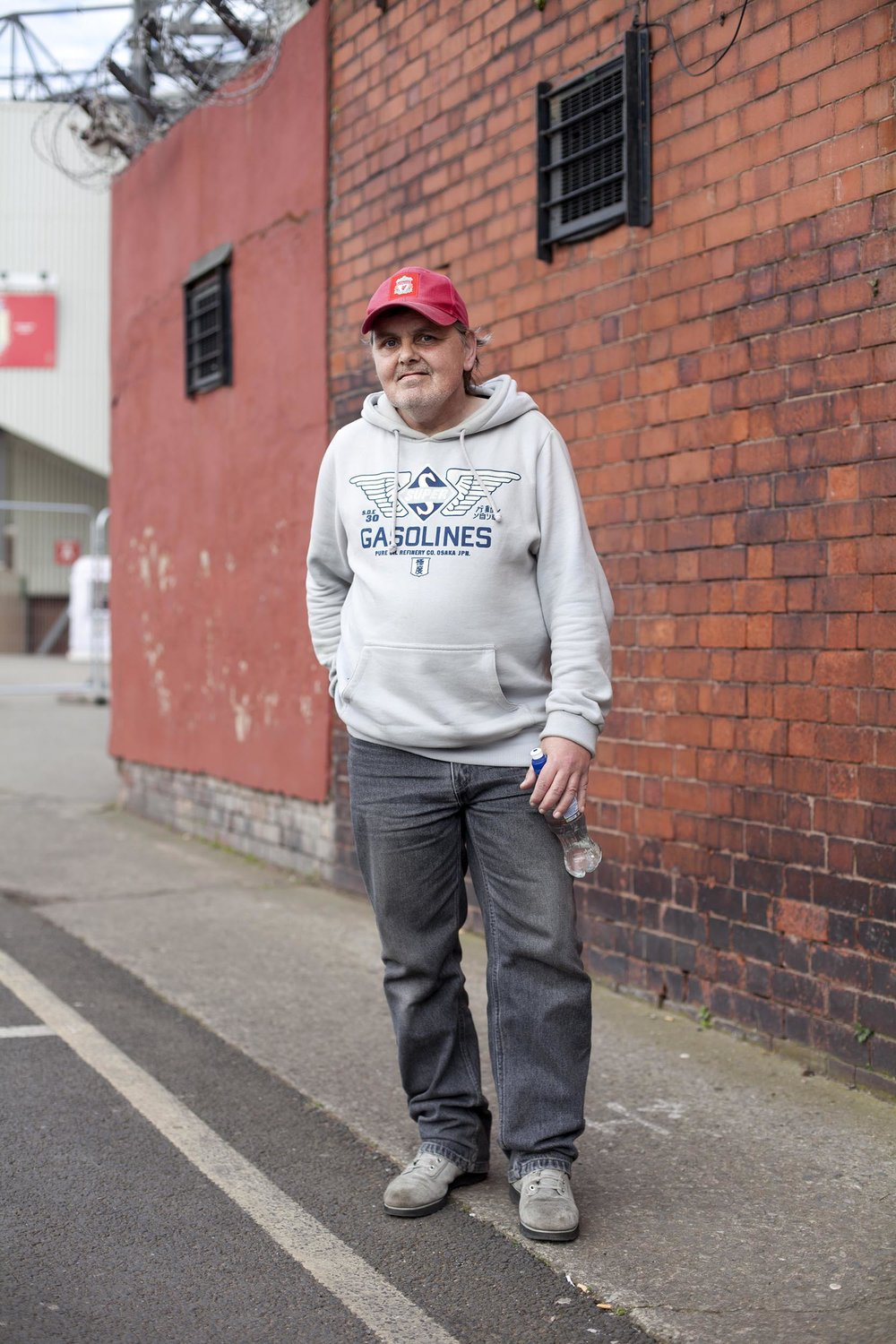 Local fan near Anfield, Liverpool - Documentary Photography