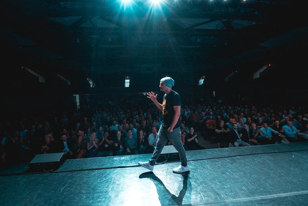 Event: Gary Vaynerchuk, Key Note Speech   Rochester, Minnesota.    Event Photography and Video