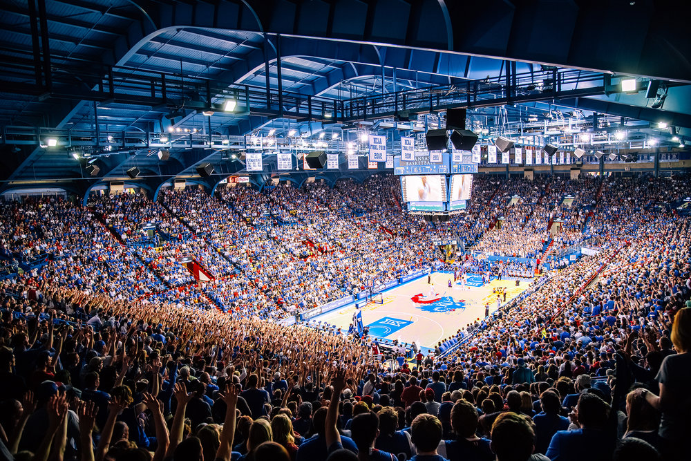 Event: Kansas Basketball   Lawrence, KS  Event Photo and Video
