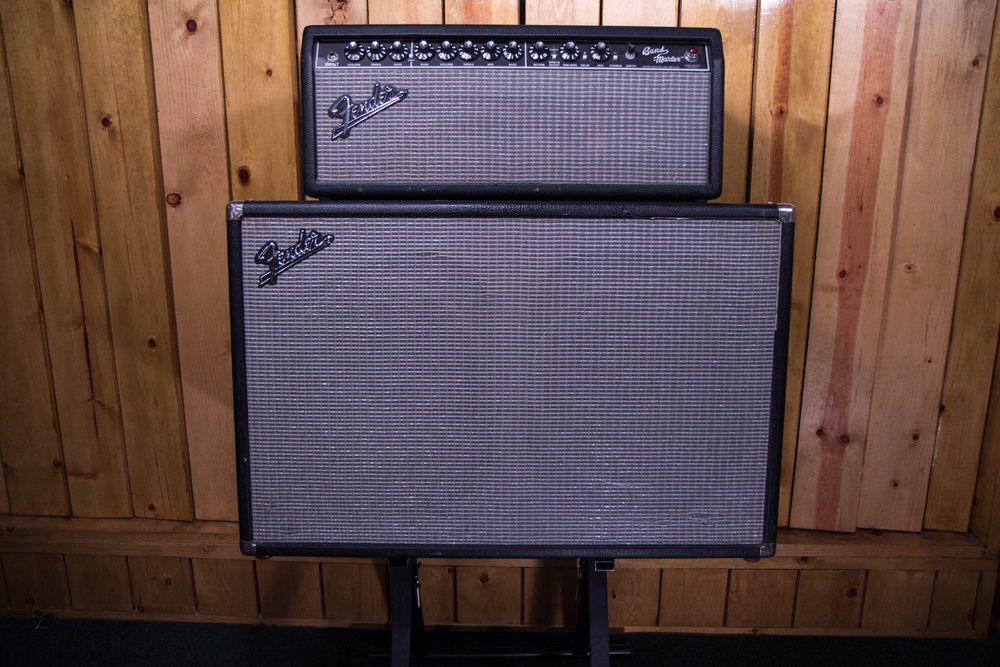Fender Band-Master Vintage Modern PR772 Head and 212 Cab