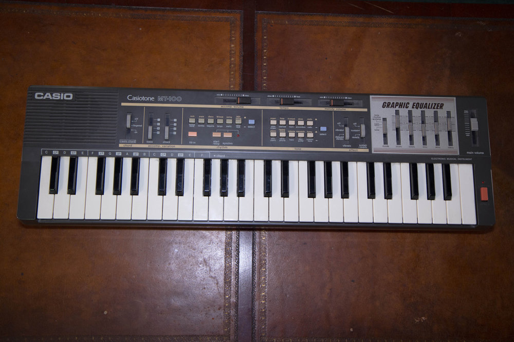 Casio Casiotone MT-100