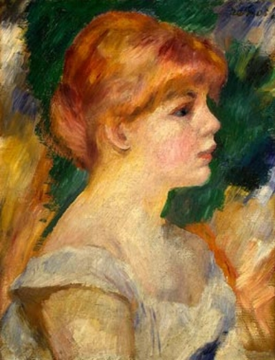 Renoir,  Portrait of Suzanne Valadon,  1885 (National Gallery of Art)