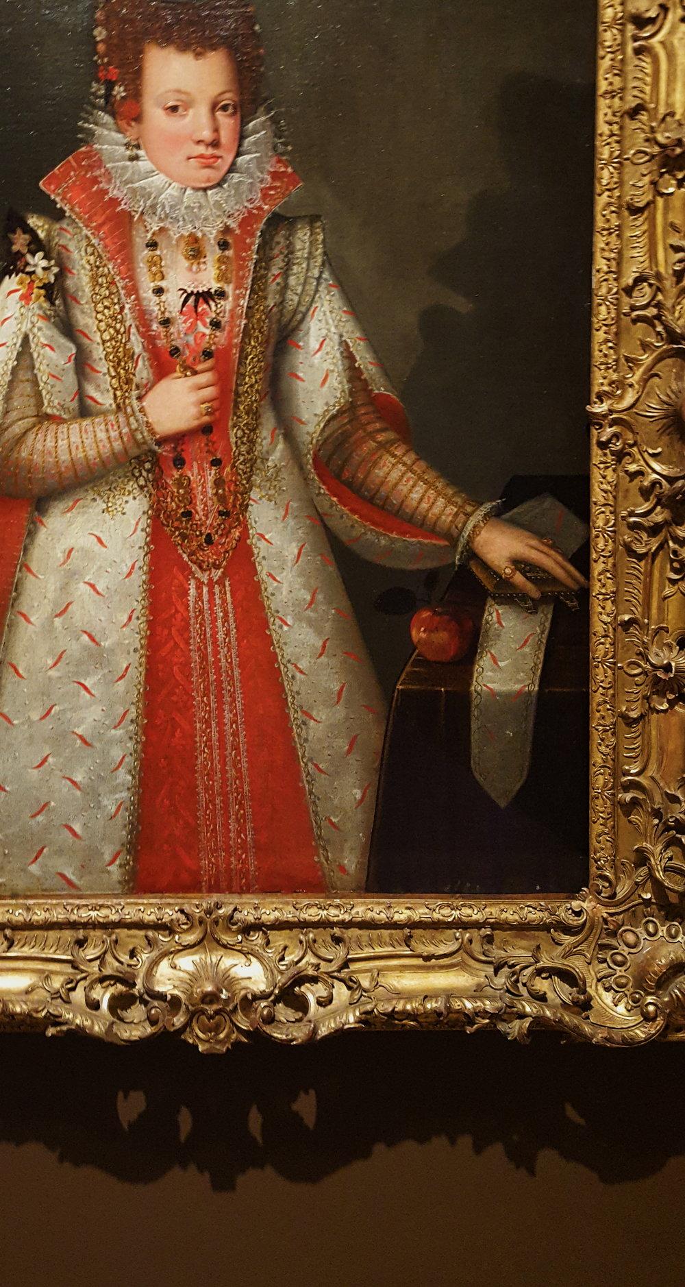 Alonzo Sánchez Coello,  Portrait of a Young Noblewoman,  1593.