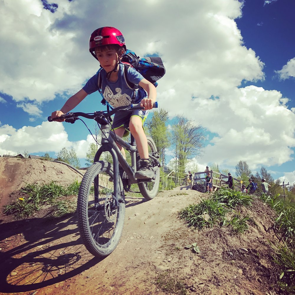 The Fernie bike park.