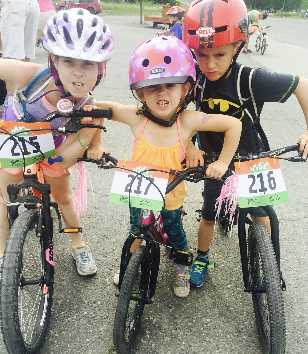 Fernie kids bike rally is in its 11th year and will be held on June 24, 2017. Don't miss  registration  to this super fun event! It takes place the same weekend as the Fernie Lucky 7.