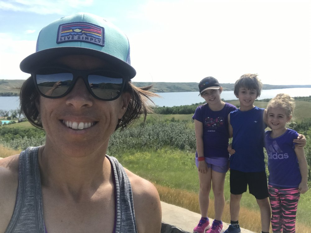 Buffalo Pound Provincial Park...Me + my rocking travel buddies!