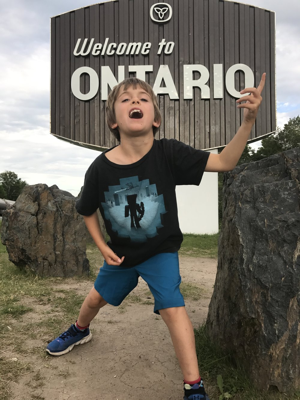 Ben is always rocking it! Hello Ontario!!!