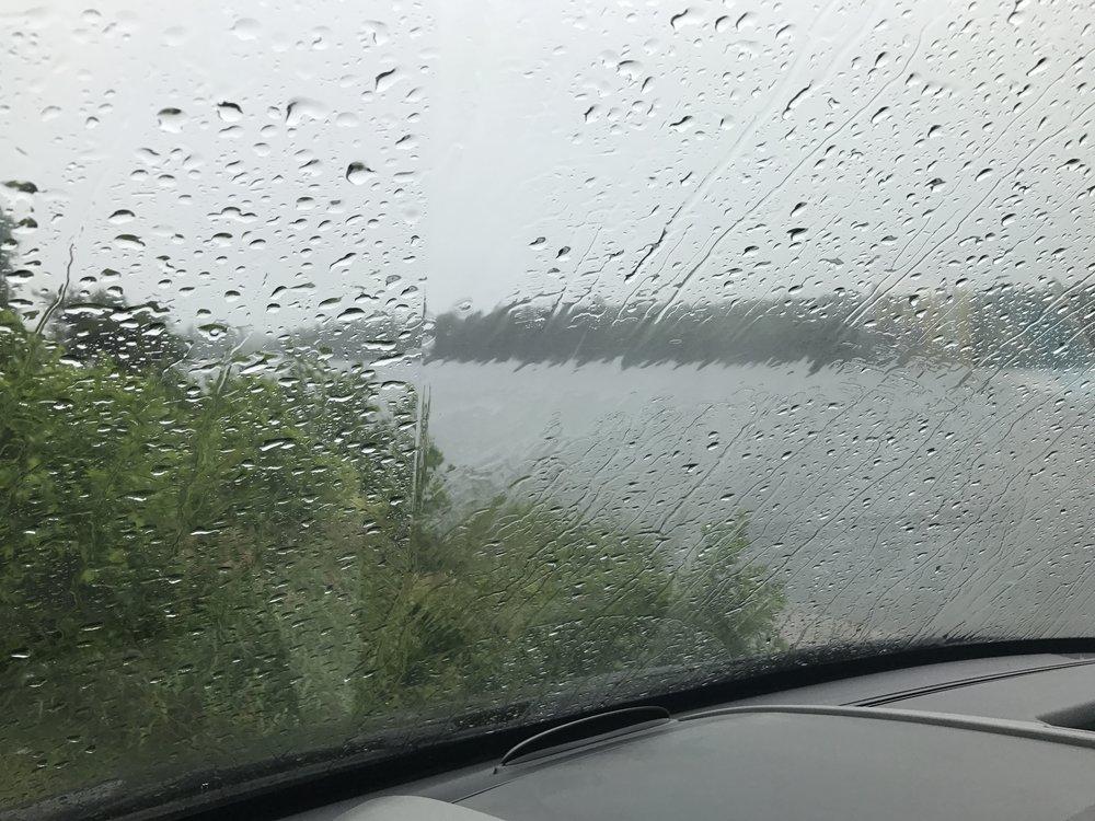 Rain day = drive day!!