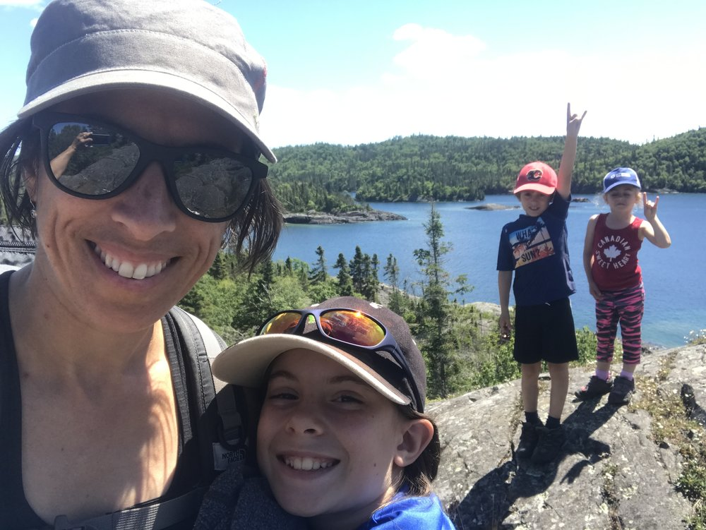 Hiking the Southern Headland Trail - Pukaskwa National Park