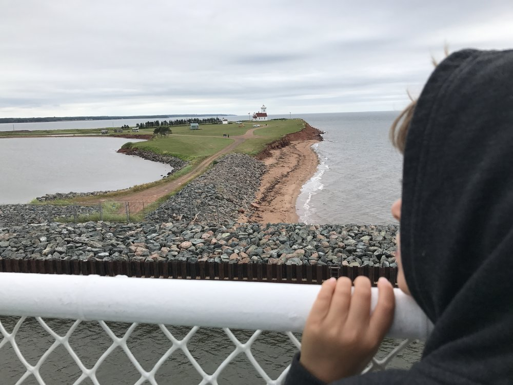 Saying bye to PEI.