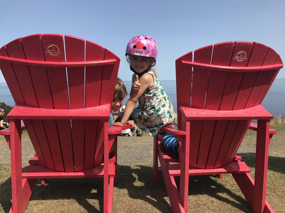 More #sharethechair in Forillon National Park!