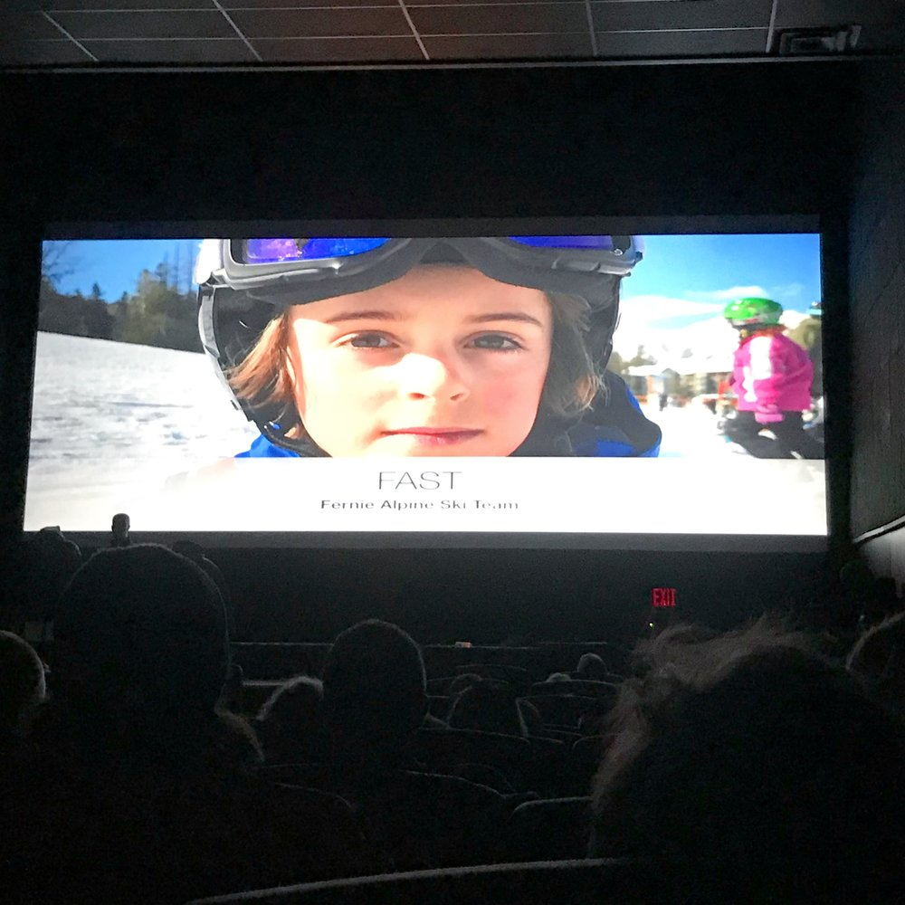 FAST Film Festival - I had so much fun seeing myself on the big screen at the FAST Film Festival in Fernie. Walking away with 3rd place was the cherry on top! I even got a photo with the good looking fellas that organized the event!Thank you FAST, for a great season!Ben