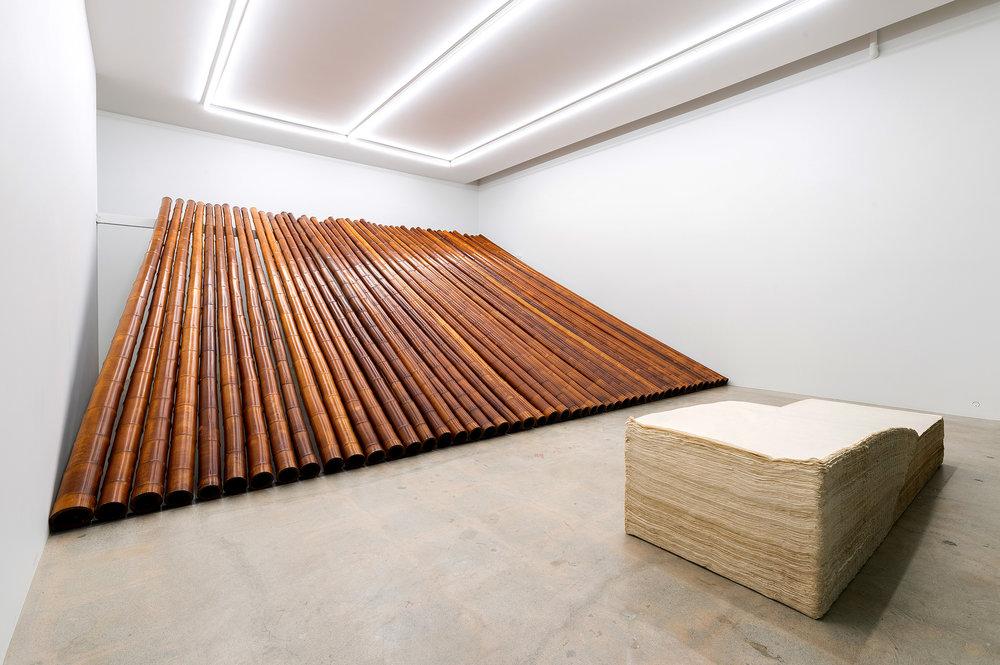 Paper No.1-BF, 1983, Bamboo No. 1-B, 1984