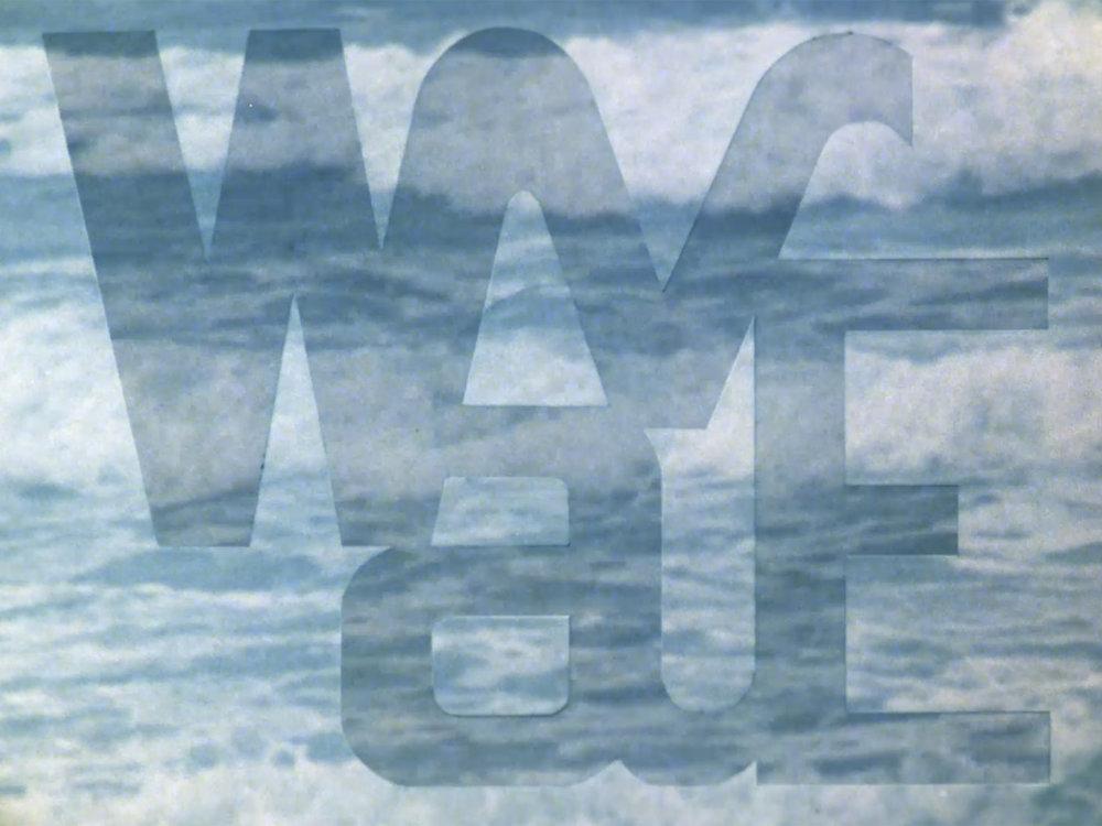 Wave, 1984, 16mm, 8min(ウェーブ)