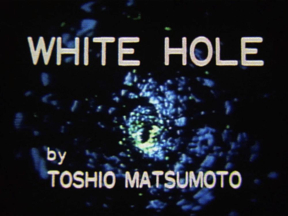 White Hole, 1979, 16mm, 7min(ホワイトホール)