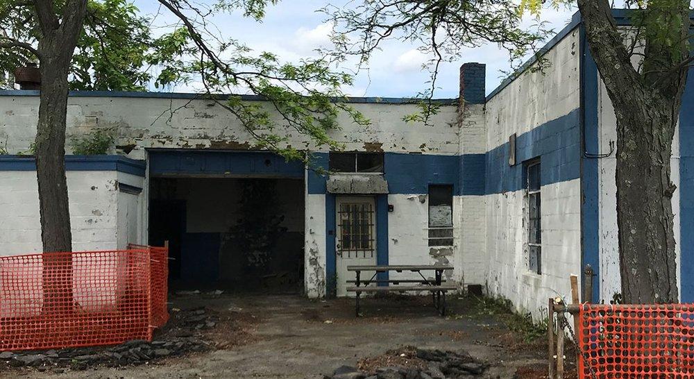 Before - side entrance