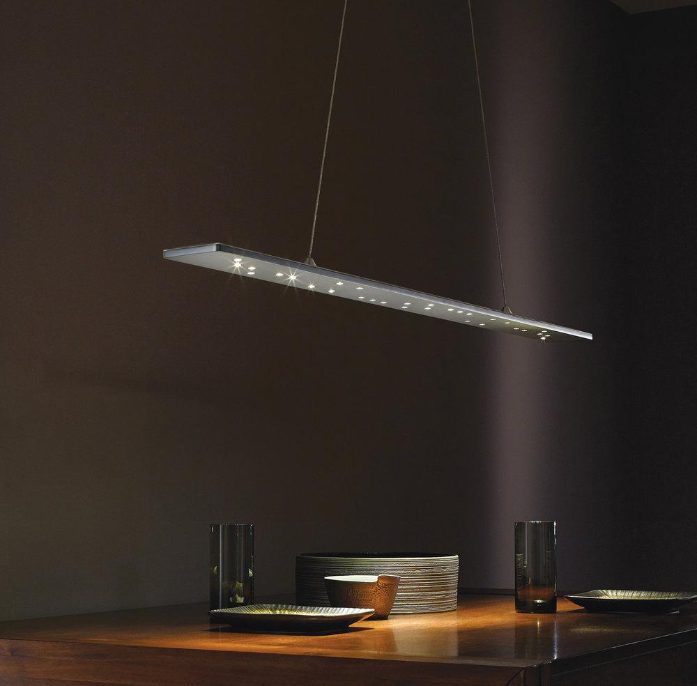 tech lighting parallax linear led pendant light my nest