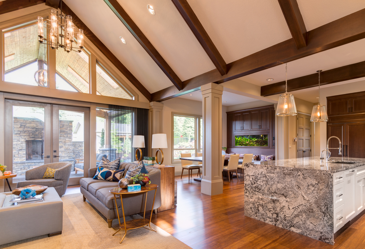Lighting A Space With A Vaulted Ceiling Light My Nest