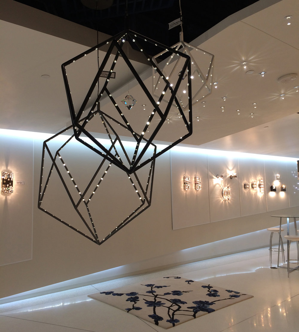 Schonbek Lighting Showroom Dallas