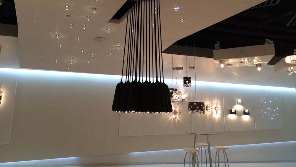 Schonbek Lighting Dallas Showroom