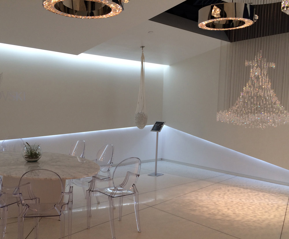 Schonbek Lighting Showroom at Dallas Market