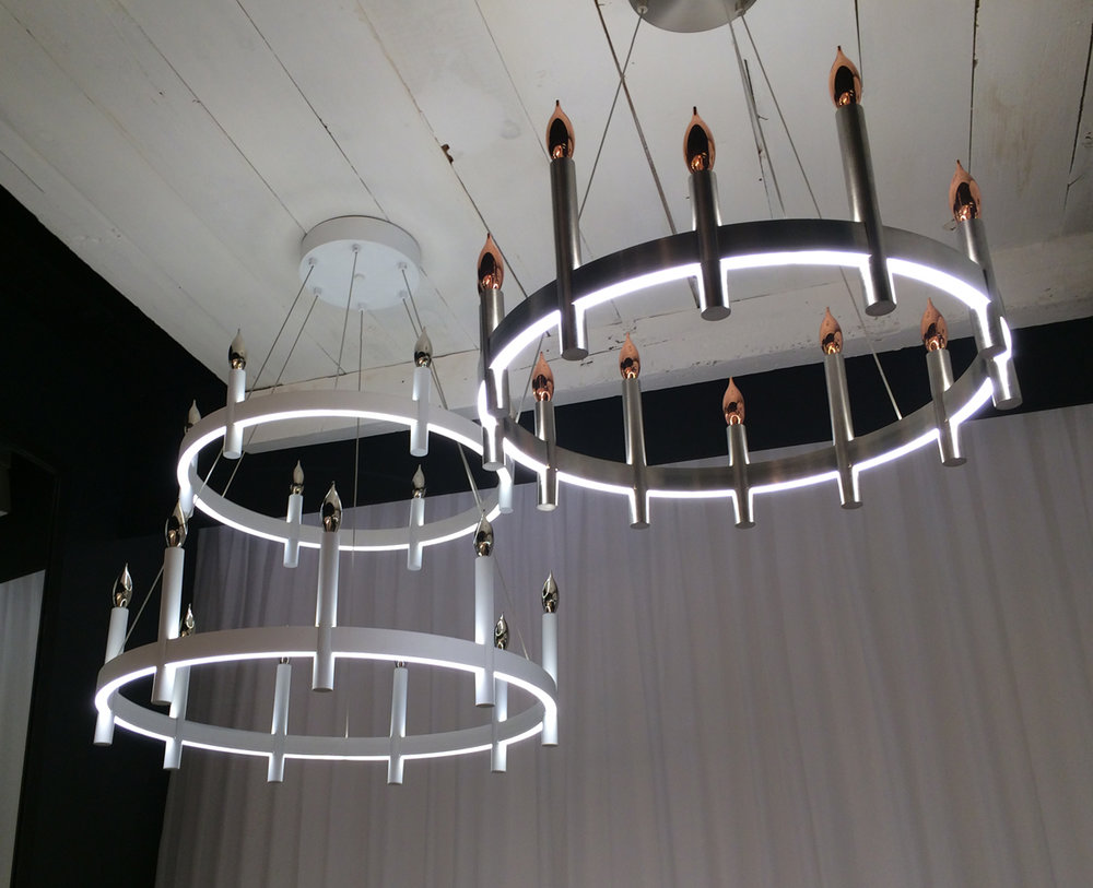 Tech Lighting Fiama chandelier