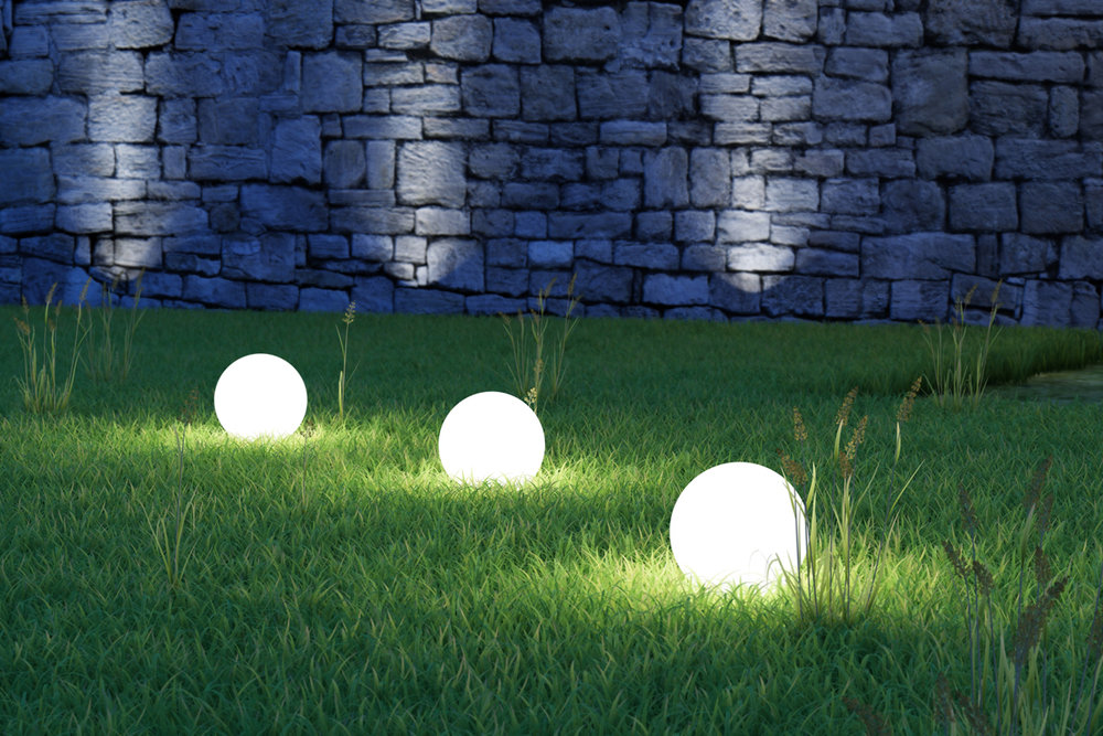 Create striking effects with your outdoor lighting plan
