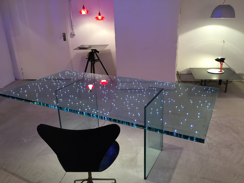 Ingo Maurer LED Table