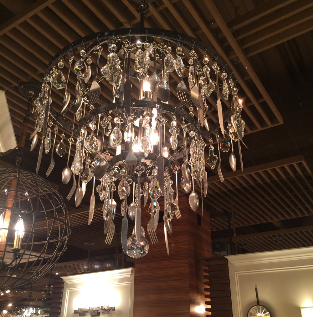 Troy Lighting Bistro Chandelier
