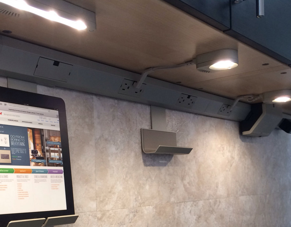 Legrand undercabinet lighting system