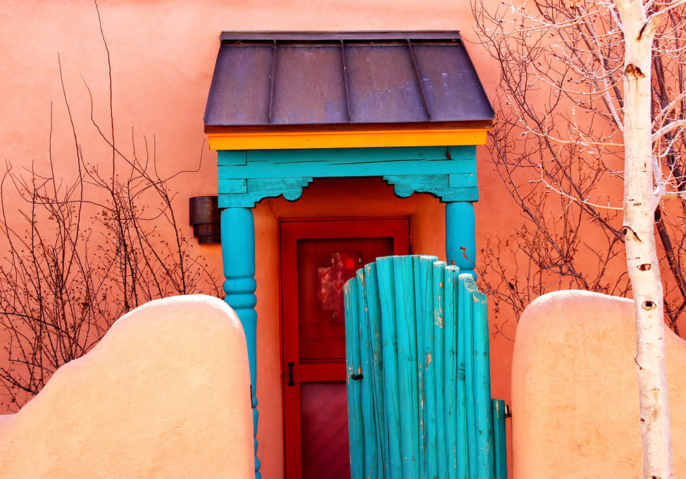 Colorful Taos New Mexico