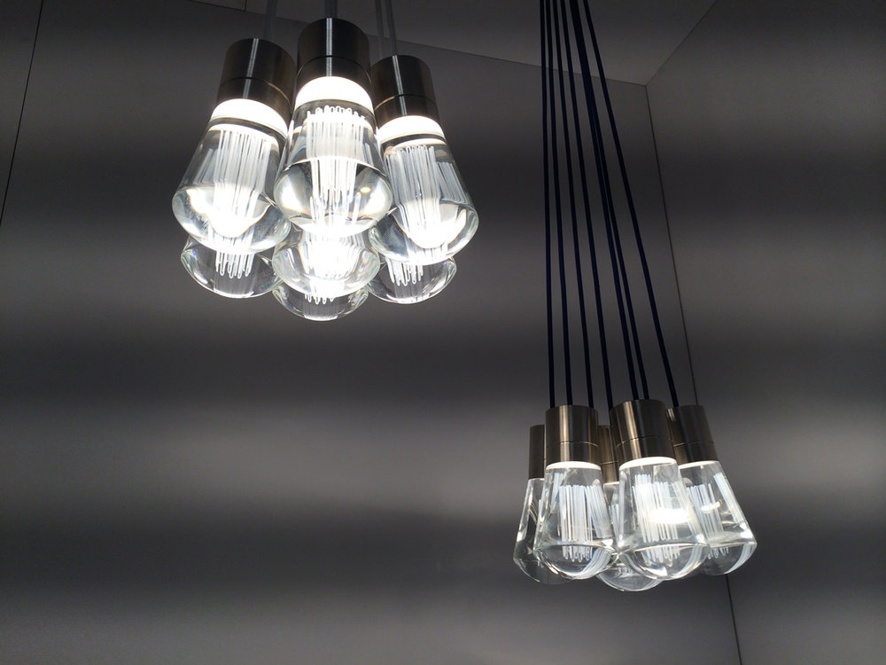 Tech Lighting Alva LED pendant cluster