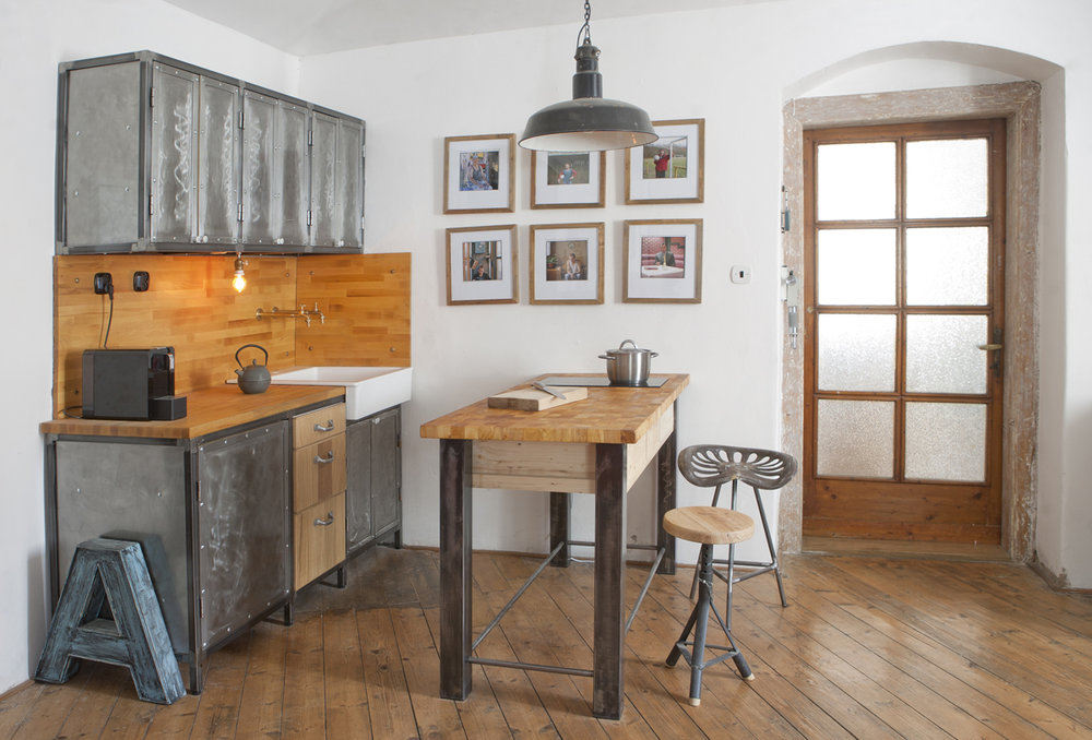 rustic-industrial-kitchen