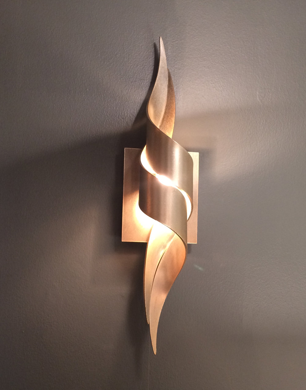 Hubbardton Forge Flux Wall Sconce