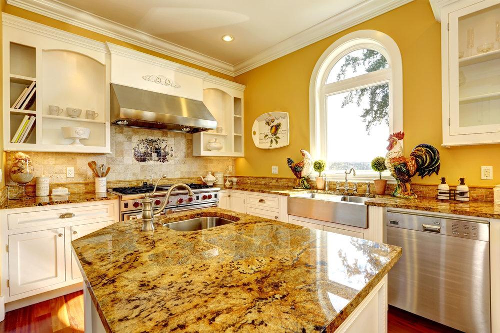 Elegant country kitchen