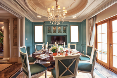 LED lighting for the traditional-dining-room