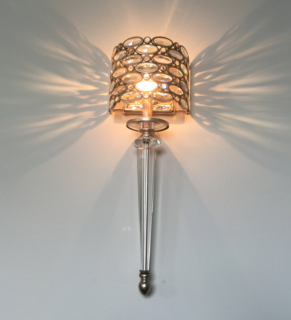 Corbett Lighting Party Girl wall sconce