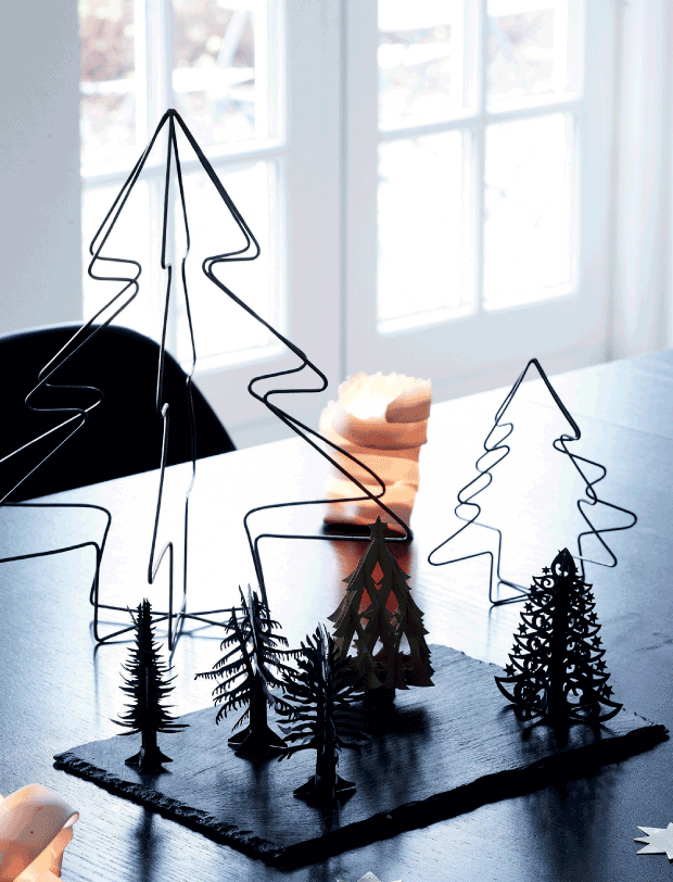 Modern-Scandinavian-Holiday-Decor via femina.dk