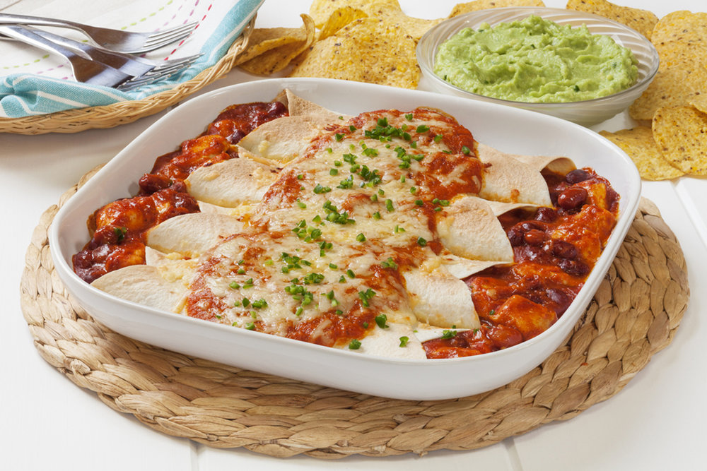 Enchiladas-red or green - or Christmas